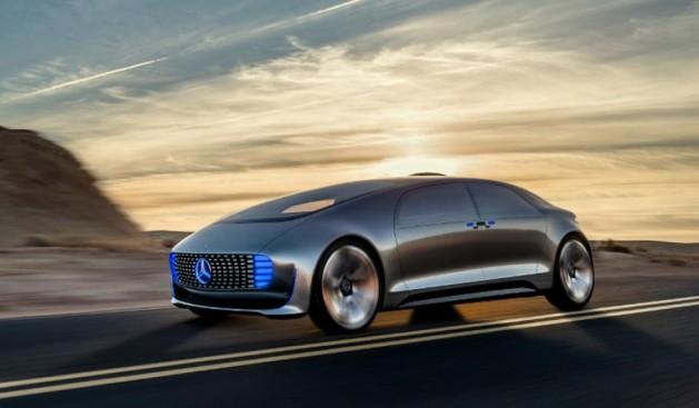 mercedes Self-Driving Pollution-Free Car