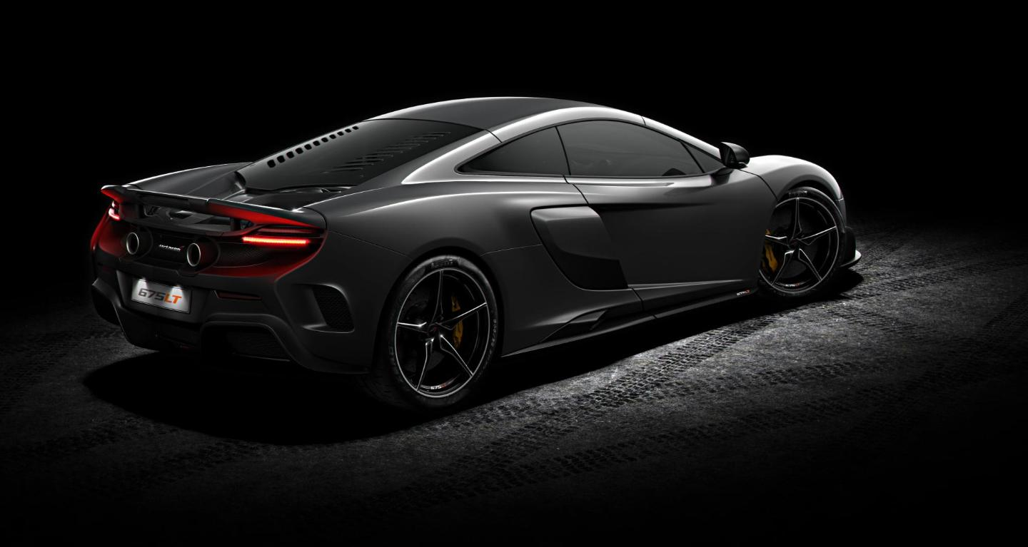 McLaren 675LT read side view