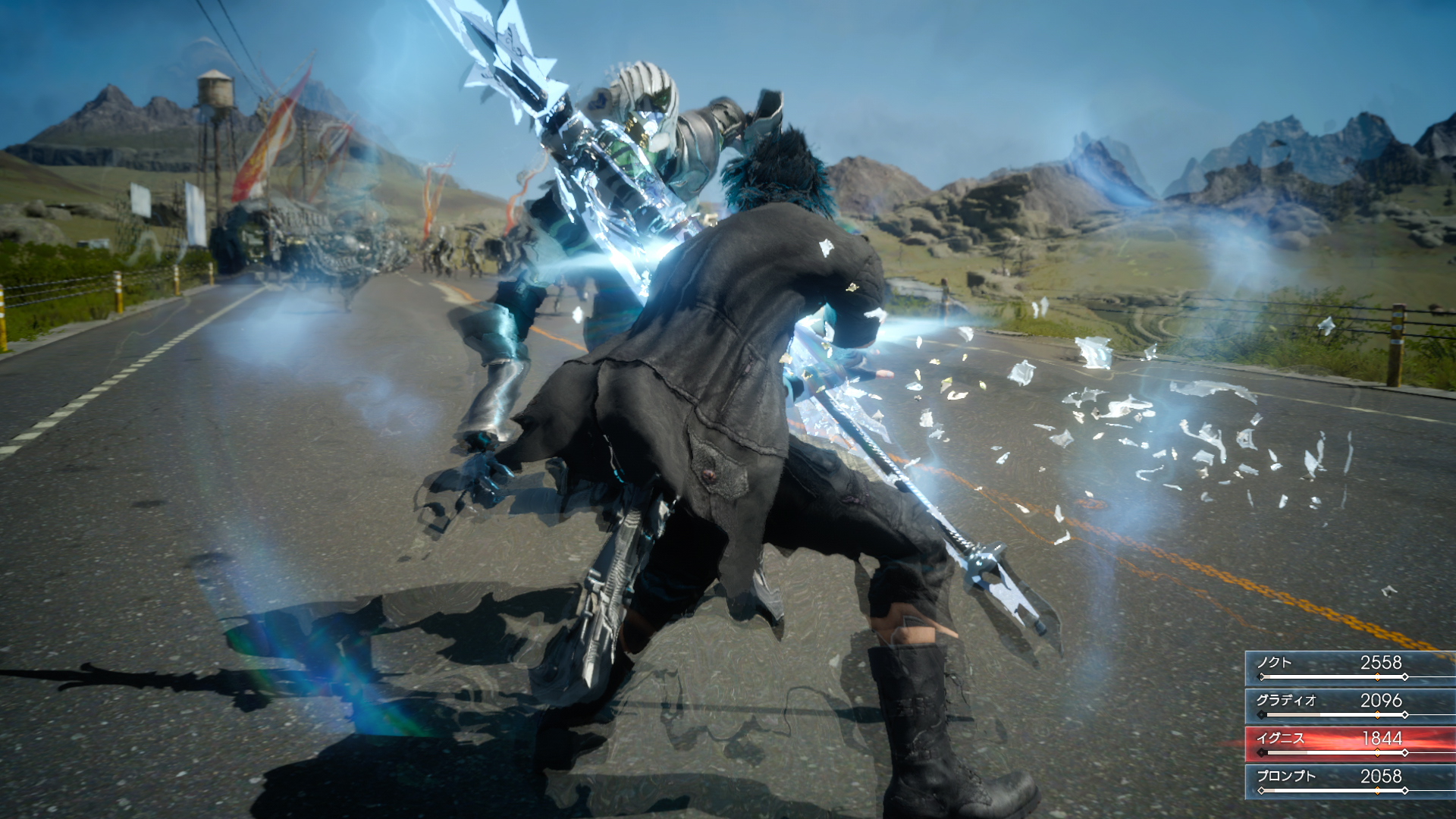 final fantasy xv gameplay still