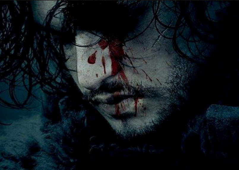 jon snow bloody face