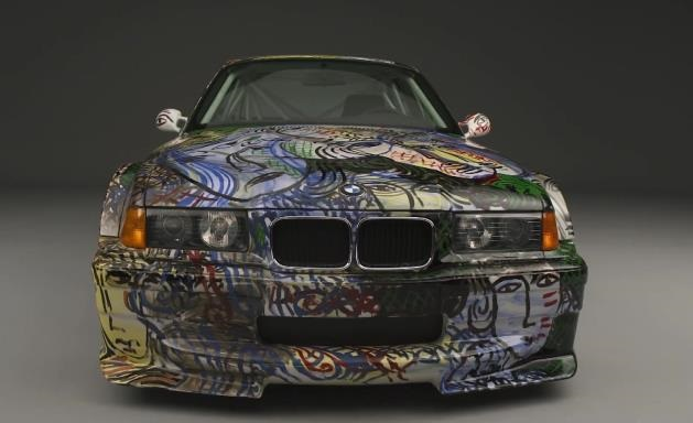 painted bmw