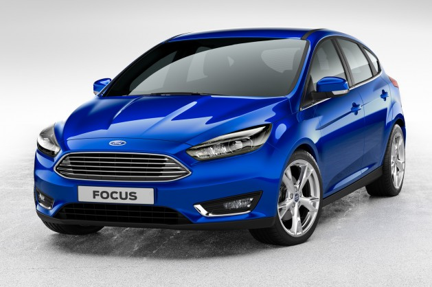 2015 Ford Focus Blue