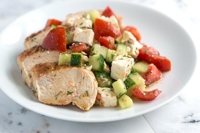 Диетические салаты из вареных овощей рецепты с