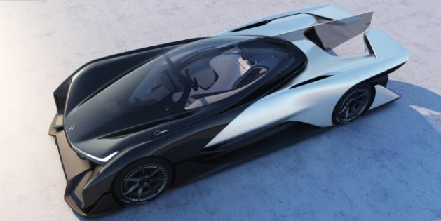 Faraday Future's Future Car Is...Futuristic