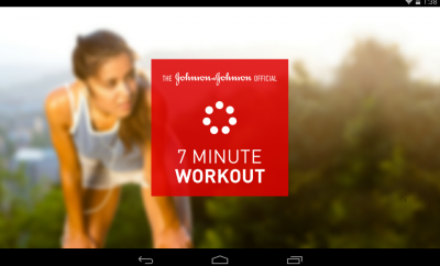 J and J Official 7 Minute Exercise App