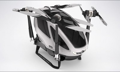 The World's First Passenger Drone is Unveiled at CES