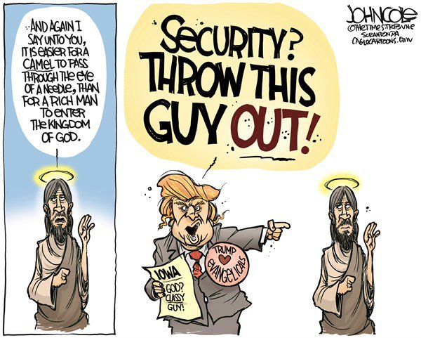 Donald Trump and Jesus