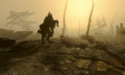 fallout 4 deathclaw in wild