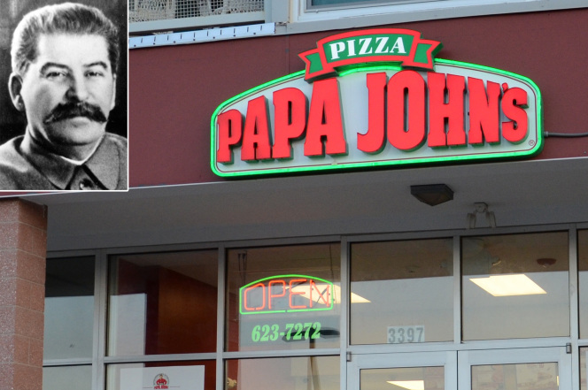 joseph stalin and papa john's