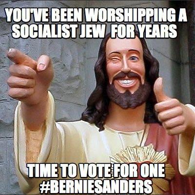 buddy christ socialist