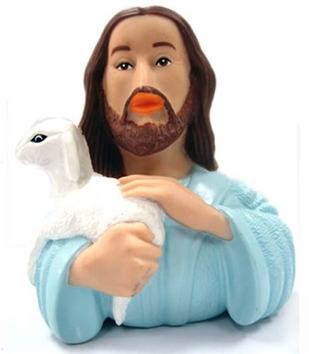 http://www.amazon.com/CelebriDucks-Jesus-Nazareth-RUBBER-DUCK/dp/B004HJ69G4/ref=sr_1_1?ie=UTF8&qid=1457559612&sr=8-1&keywords=CelebriDucks+Jesus+of+Nazareth+RUBBER+DUCK+Bath+Toy