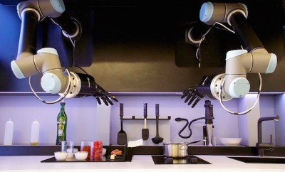 Cooking robot chef