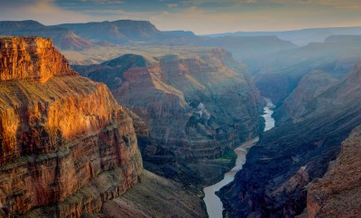 Sunset at Toroweap, Grand Canyon National Park, Arizona