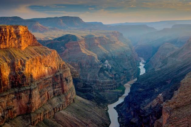 Sunset at Toroweap, Grand Canyon National Park, Arizona