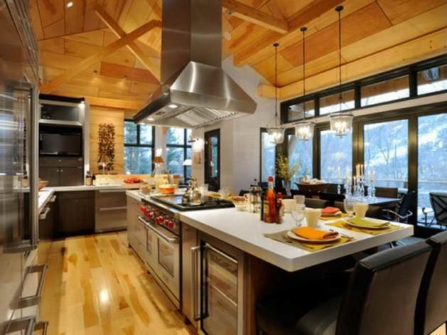 modern-kitchen-and-kitchen-cabinet-with-window-also-kitchen-island