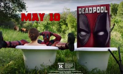 Deadpool commercial