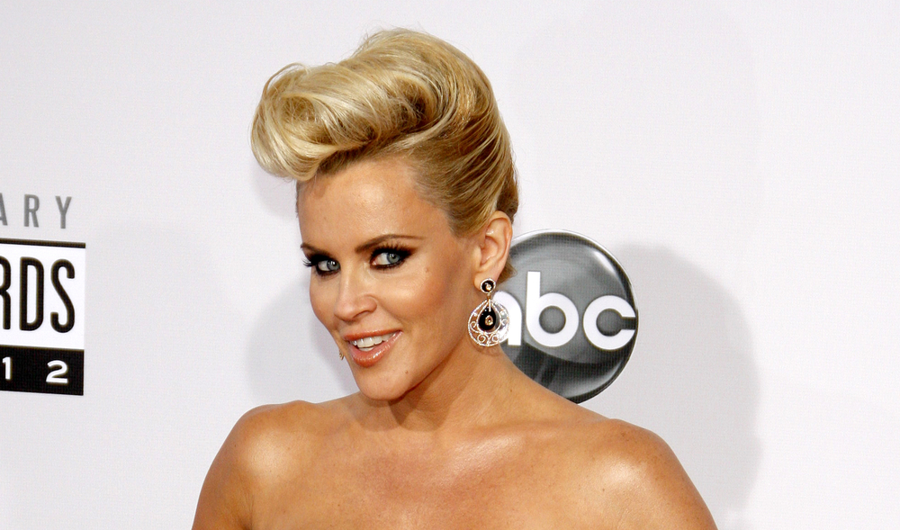 Jenny McCarthy at the 2012 American Music Awards held at the Nokia Theatre L.A. Live in Los Angeles, USA on November 18, 2012