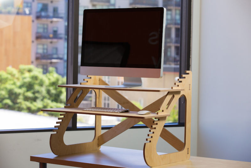 build your own standing desk for about $20