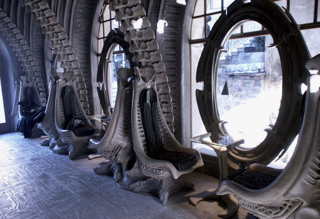 Image: H. R. Giger Bar and Museum