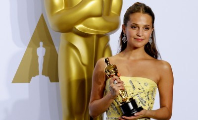 Alicia Vikander at the 88th Annual Academy Awards - Press Room held at the Loews Hollywood Hotel in Hollywood, USA on February 28, 2016