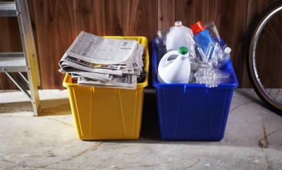Bin of Recycling
