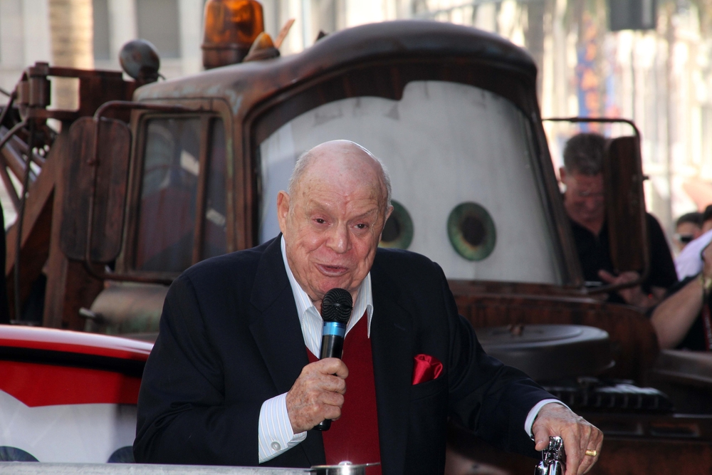Don Rickles at John Lasseter's Star on the Hollywood Walk of Fame, Hollywood, CA 11-1-11