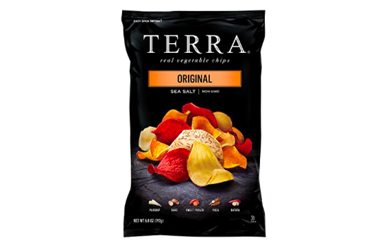 Terra vegetable chips