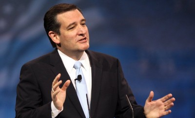 Ted Cruz addresses the Republican National Convention, July 20, 2016