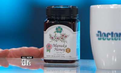 manuka honey container the doctors