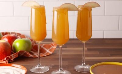 caramel apple mimosa