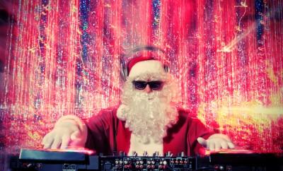 Santa DJ raddest christmas songs