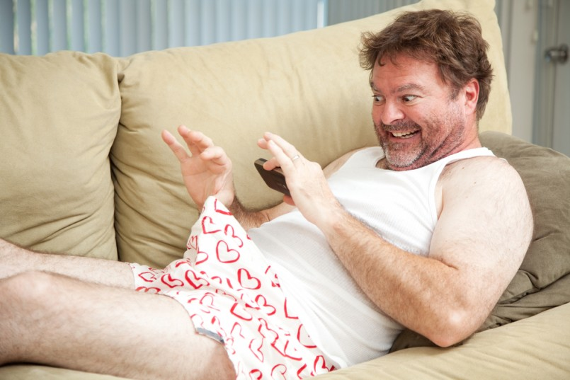 humorous-photo-of-a-man-in-his-underwear-using-his-cellphone-to-send-a-picture-of-his-penis