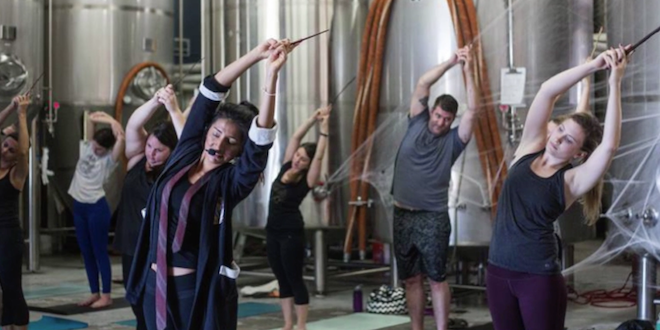 Harry Potter yoga