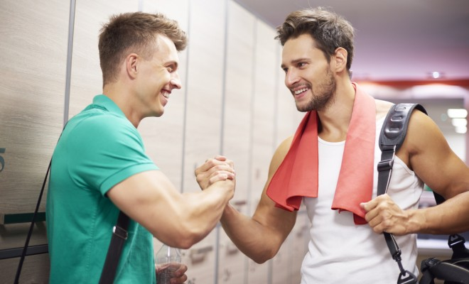 sportsmen-in-the-cloak-room-after-the-training