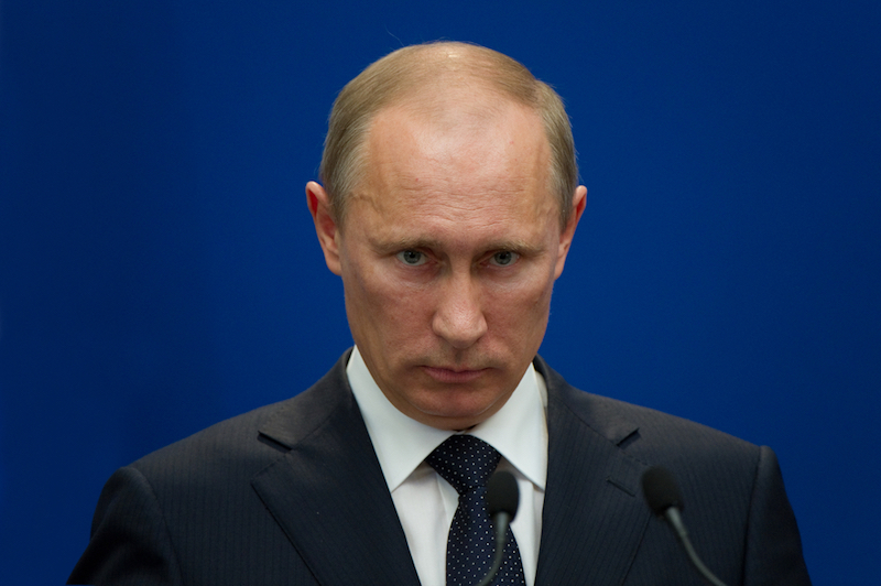 Paris - June 21 : Vladimir Putin during a work visit at Matignon, june 21, 2011 in Paris, France