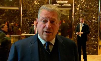 Al Gore in Trump tower