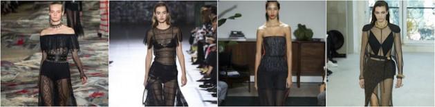 2017 sheer runway trend, spring fashion