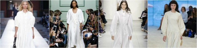 2017 Trend report white dresses, dreamy
