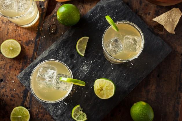 homemade classic margarita recipe for National Margarita Day