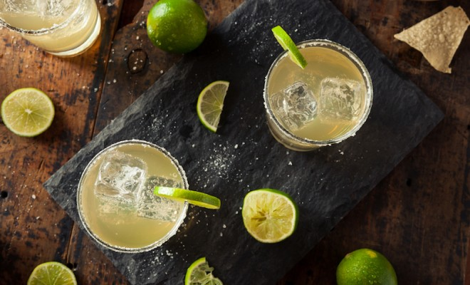 homemade classic margarita recipe for National Margarita Day