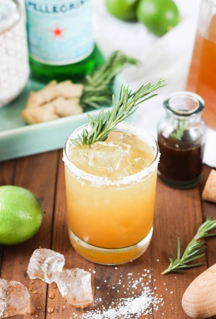 rosemary giner margarita recipe for National Margarita Day