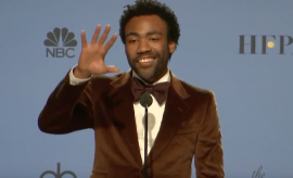 Donald Glover wins for Atlanta
