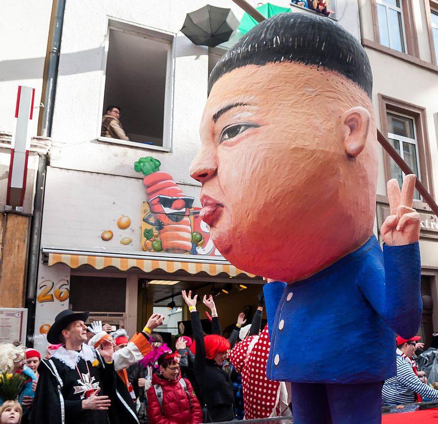 Kim Jong Un Effigy
