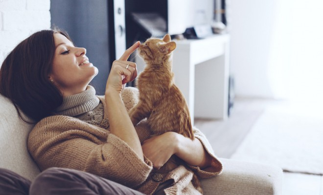 young-woman-wearing-warm-sweater-is-resting-with-a-cat-on-the-armchair-at-home-one-autumn-day