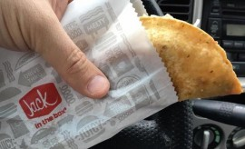 Jack in the Box taco