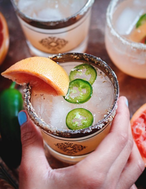 jalapeno grapefruit margarita recipe