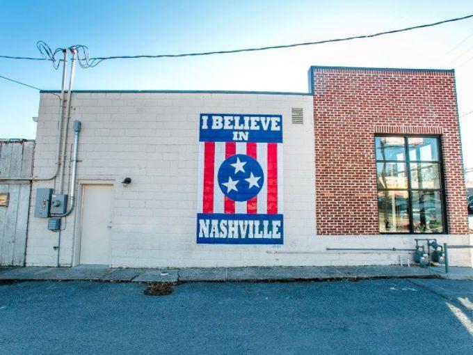 I Believe in Nashville Mural