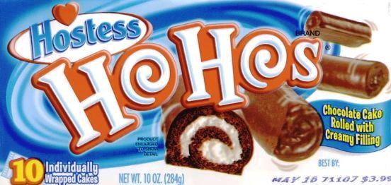 Ho Ho lunchbox snacks box