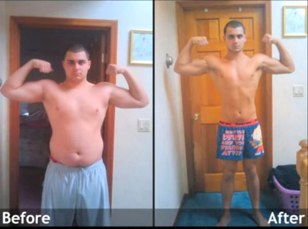 clenbuterol before and after