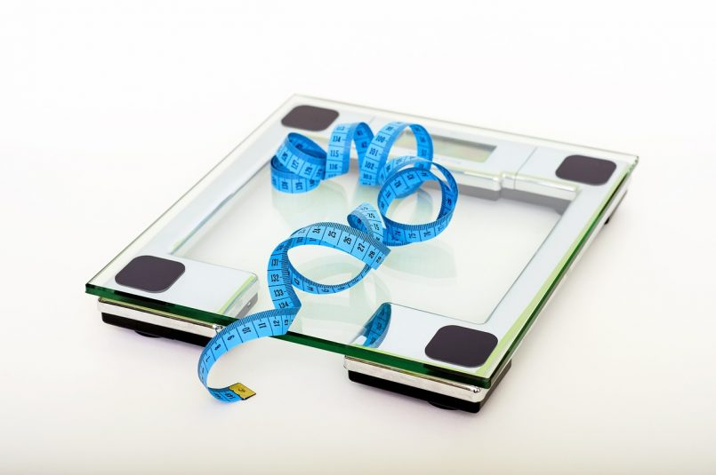 Smart scale with tape measure